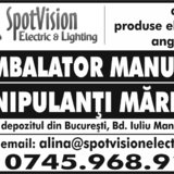 Manipulant marfuri si ambalator manual